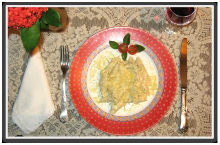 Macarrão ao Molho de Gorgonzola