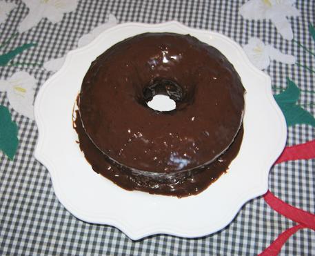 Bolo de chocolate rápido (e com água!)