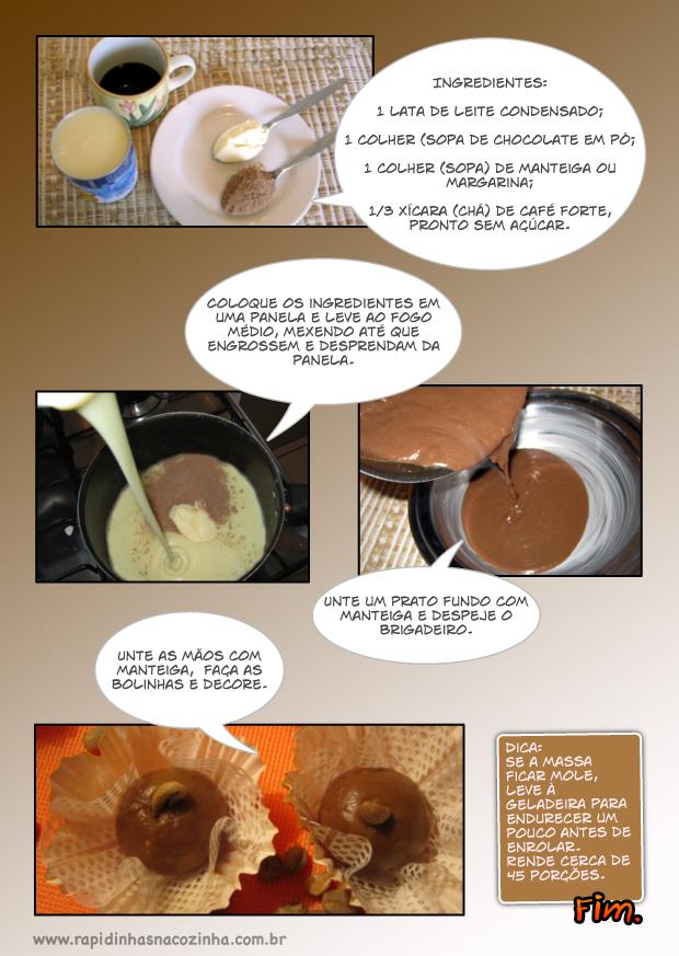 Como Fazer Brigadeiro de Café com Chocolate