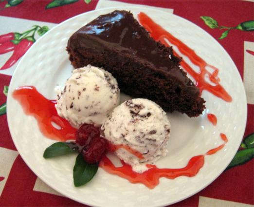 Bolo de Chocolate de liquidificador