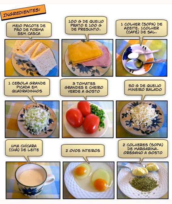 Bauru Cremoso Ingredientes