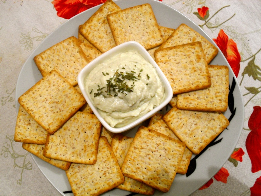 Pasta de gorgonzola com pêra