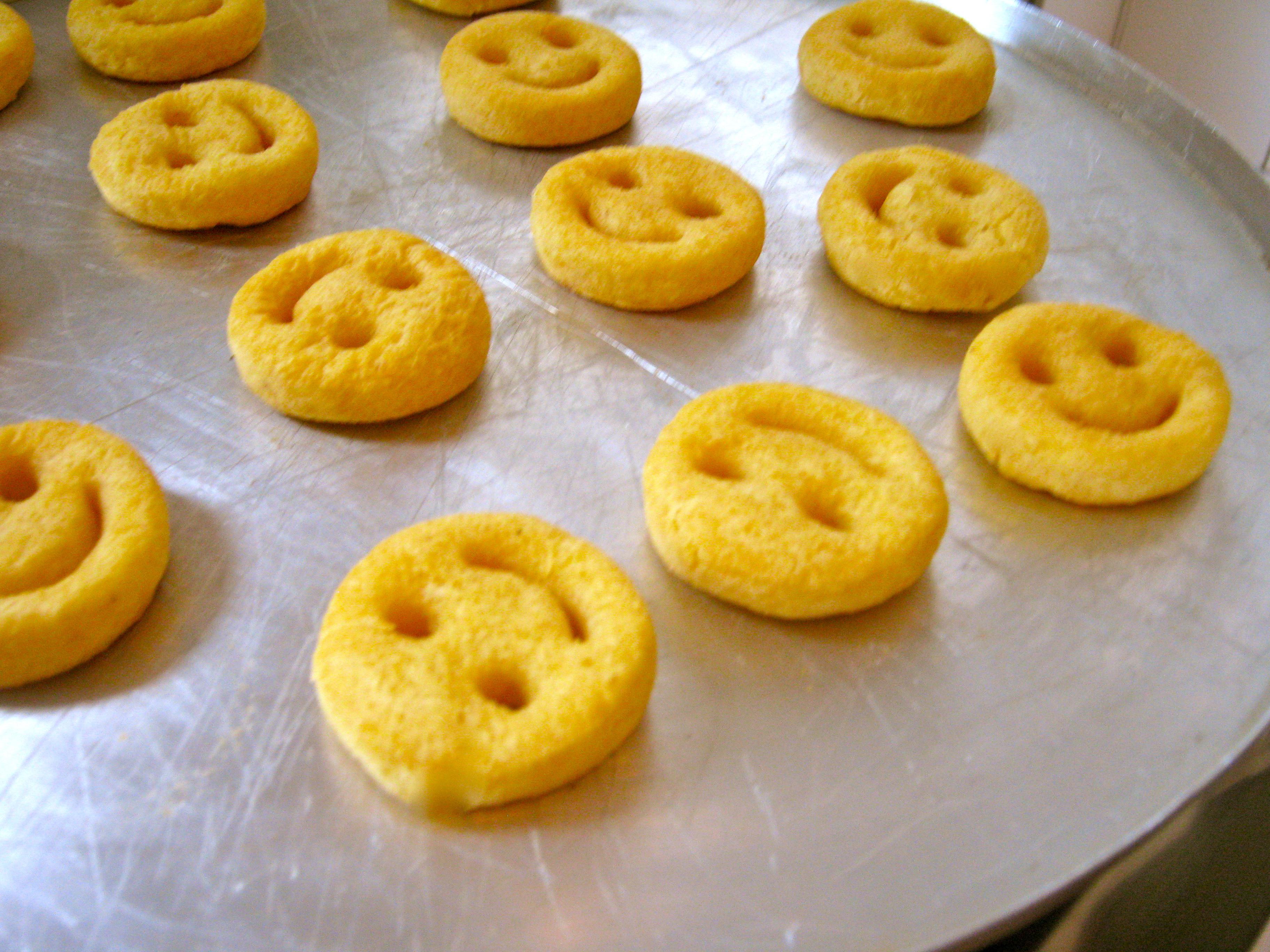 Batatas sorriso assadas