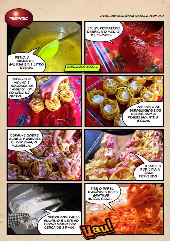 Como fazer Macarrão cremoso de forno