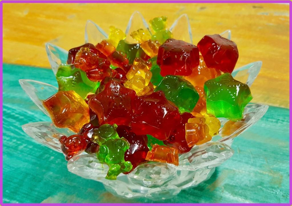 Balas de gelatina iguais às balas Fini